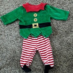Infant Christmas/Holiday Elf Outfit